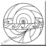 September 2012 Mandala of the Month