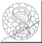 March 2013 Mandala of the Month