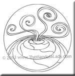 August 2013 Mandala of the Month