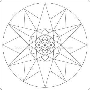 The Big Reveal - Mandala of the Month - The Mandala Lady