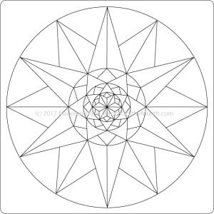 The Big Reveal - Mandala of the Month - The Mandala Lady